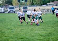 youth playing flag football 2