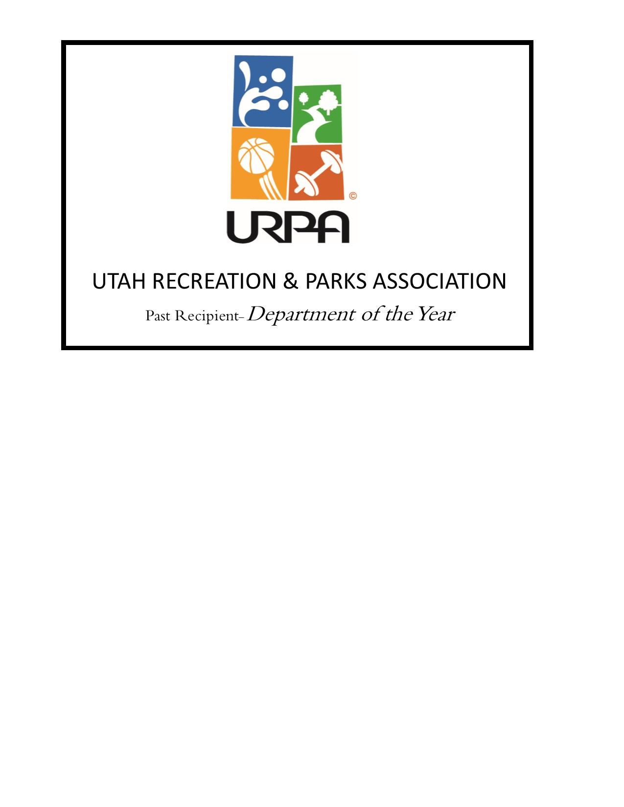 URPA PAST RECIPIENT AWARD
